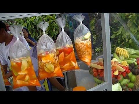 Greater Jakarta Street Food 824 Bogor 1 Fruit Bogor  Asinan Bogor BR TiVi 5564