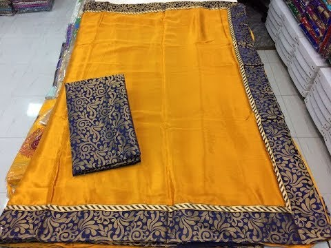 Latest Designer Pure Garden Silk Sarees With Fashio9tv 1290