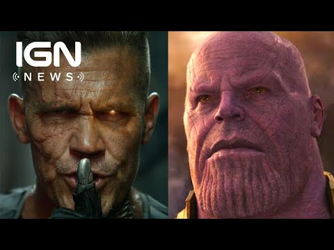 Cable Will Have a 4-Movie Arc, Suggests Josh Brolin - IGN News
