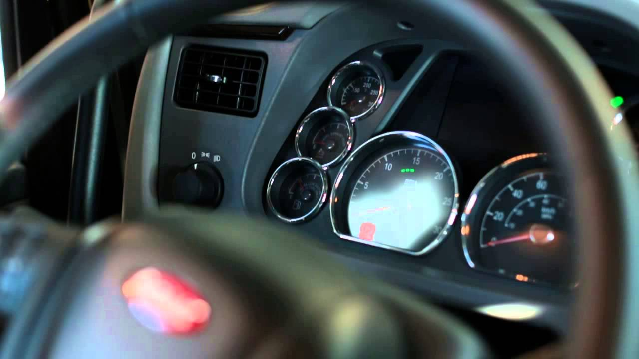 peterbilt atlantic tech tips dashboard indicators warning lights youtube [ 1280 x 720 Pixel ]