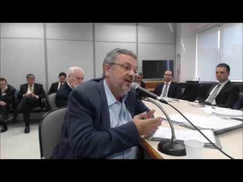 Antonio Palocci presta depoimento ao juiz Sergio Moro - Parte 1