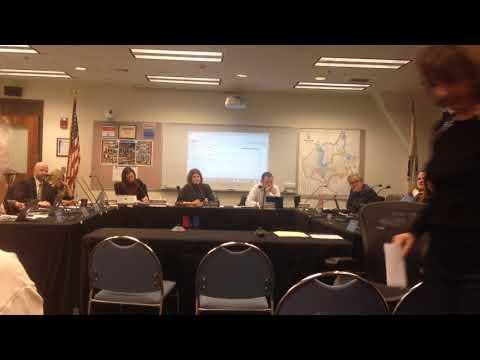 Natick School Committee Meeting November 19, 2018 Public Speak
