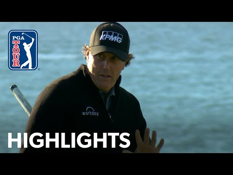 Phil Mickelson's highlights | Round 4 | AT&T Pebble Beach 2019