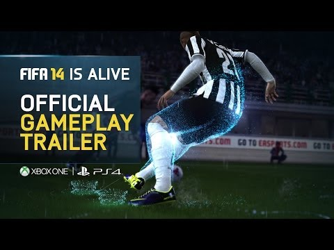 FIFA 14 is Alive | Official Gameplay Trailer | Xbox One & PS4 | Music by Chase & Status