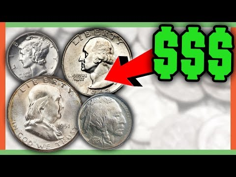 OLD COINS WORTH MONEY - RARE COINS TO LOOK FOR IN CIRCULATION!!