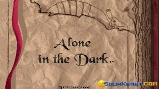 Alone in the Dark gameplay (PC Game, 1992)