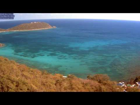 St. John Rendezvous Bay, May 2016 Time Lapse