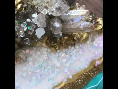 Geode Resin Art - Online E Class Tutorial Beginners Guide