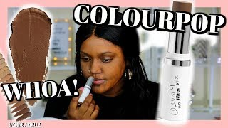Colourpop No Filter Stick Foundation | Dark Skin