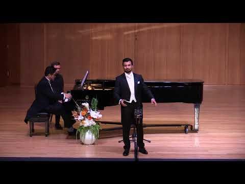 """Anthony Leon, Tenor - """"Die Allmacht,"""" Schubert"""