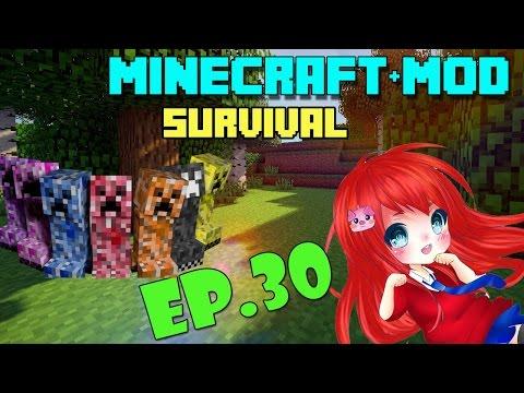 Minecraft+Mod Survival มุ้งมิ้งโหดเว่อร์ EP.30 เดินไปเรื่อยเก็บเวล