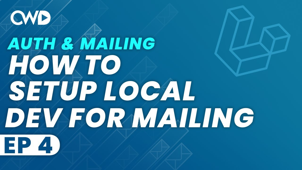 How To Setup Your Local Development for Mailing | How To Use Your Log For Mailing | Laravel Mailing