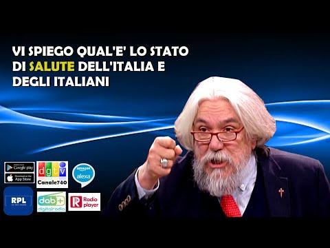 Meluzzi: Vi spiego qual'è lo stato di salute dell'Italia e degli italiani