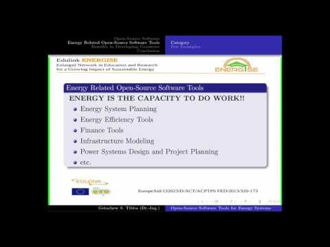 Open source energy systems (Getachew S. Tibba)