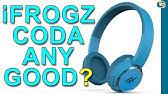 0a540eb2ef6 iFrogz Toxix OnEar Wireless SweatResistant Headphones wi... - YouTube