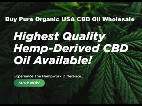 Buy Pure Organic USA CBD Oil Wholesale New York - YouTube