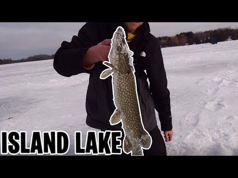 ICE FISHING - Island Lake, Orangeville 2020
