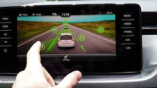 New Skoda Scala, Kamiq , Kodiaq 2019 INFOTAINMENT SYSTEMS Review