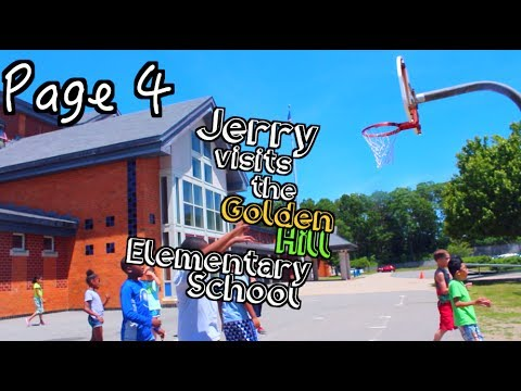Episode 4: Jerry Visits the Golden Hill Elementary School!