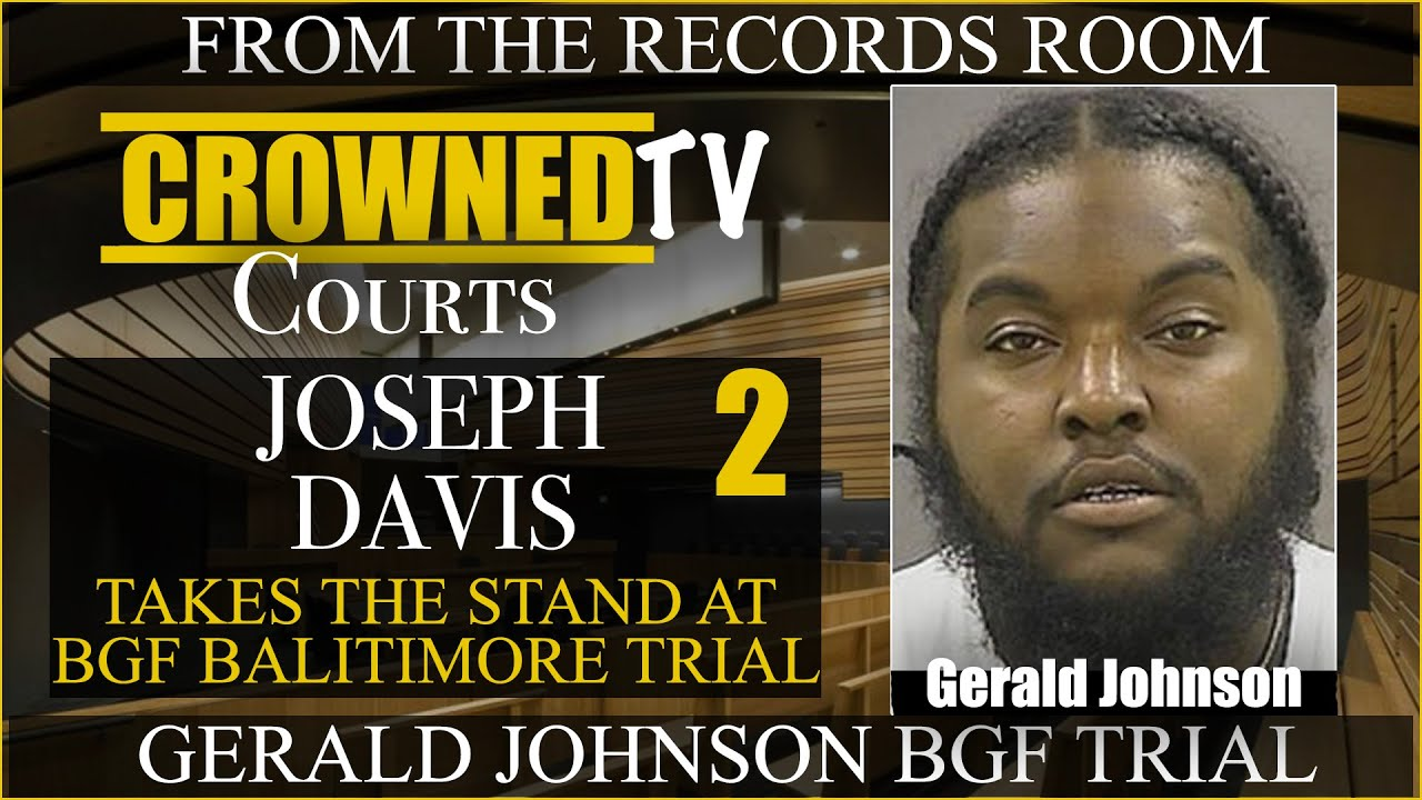 "Joseph ""Porky"" Davis details several robberies committed by BGF members in Baltimore"