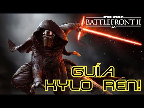Guía Kylo Ren! Star Wars Battlefront 2!