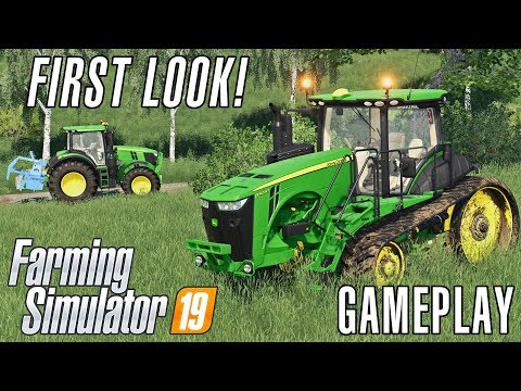 Farming Simulator 19 | First Look Gameplay