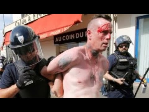 Battle of Marseille - English vs Russian Hooligans in Euro 2016