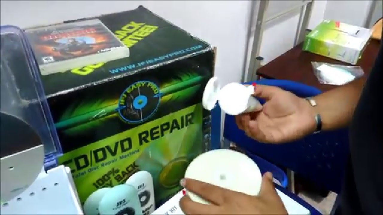 Reparar y restaurar DVD / CD juegos rayados de ps3 / ps4 / xbox 360 / xbox  one Facil