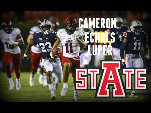 WR|| CAMERON ECHOLS - LUPER || ARKANSAS STATE|| 2016 HIGHLIGHTS