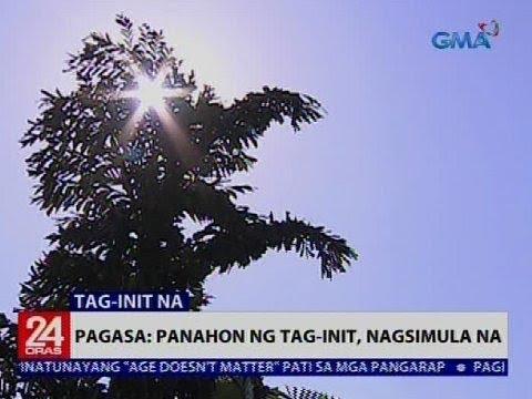 24 Oras: PAGASA: Panahon ng tag-init, nagsimula na