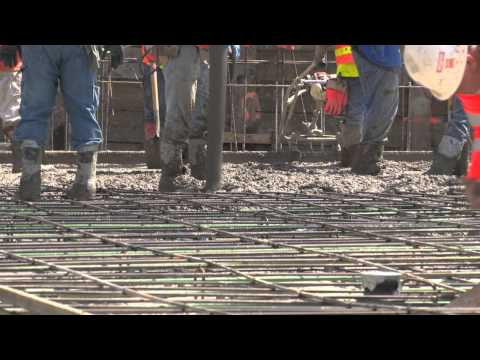 The First Floor Pour - Waterfront Park Update #3