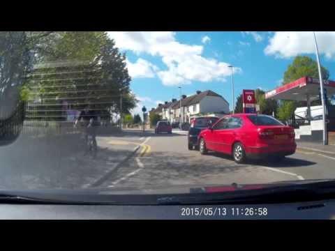 Road rage. Chatham, Kent