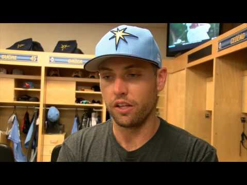Peter Bourjos -- Tampa Bay Rays vs. Baltimore Oriole spring training 03/29/2017