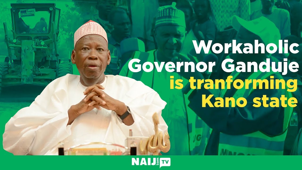 Download How workaholic Governor Ganduje is transforming Kano state | Legit TV