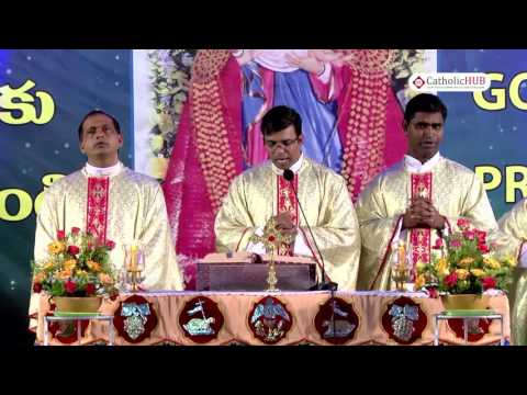 """""""ANNUAL FEAST"""" Naveena Day 1 from Shrine of Our Lady of Health, Khairtabad, Hyd,INDIA.30-08-16.HD"""