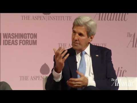 Secretary of State John Kerry: Syria, Iran, and Diplomacy