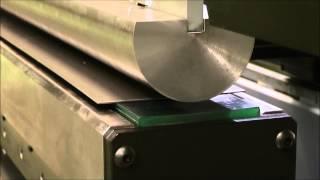 Радиусная гибка листового металла на листогибочном прессе AM AMB-15031(, 2015-02-12T13:32:06.000Z)