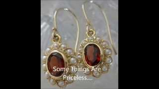 Antique Style Gold Earrings - eBay #1 Seller