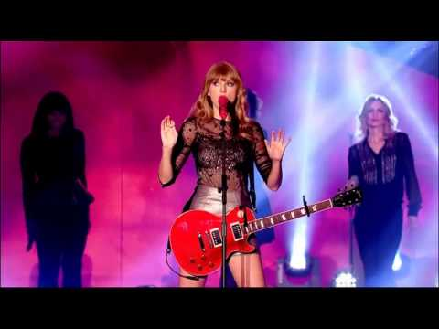 TaylorSwift Red BBC Radio 1 Teen Awards 2012