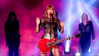 TaylorSwift Red BBC Radio 1 Teen Awards 2012