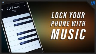 LOCK YOUR PHONE WITH MUSIC | B9 STUDIOS