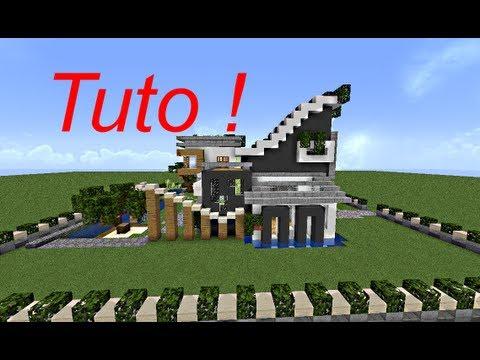 Minecraft - le guide du constructeur ! #1 - maison moderne - YouTube