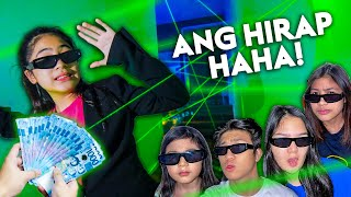 DONT Touch The LASER And Win CASH PRIZE!! (Hirap Haha!) | Ranz and Niana