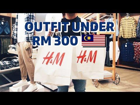 H&M OUTFIT SHOPPING DI MALAYSIA! Bahasa Indonesia