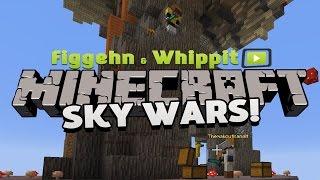 figgehn & Whippit kör Minecraft Minigames | Sky Wars - Har vi en vinnare?