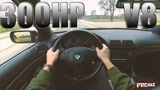 BMW E39 540i 4.4 V8 POV ACCELERATION 0-140