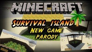 Survival Island Building |Minecraft new game parody | UDK | by KONSORDO