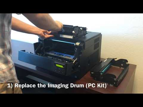 Dell 2330d / 2330dn Printer: How to Replace and Reset the PC Counter (Imaging Drum)