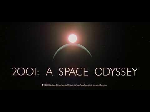 Générique 2001, l'Odyssée de l'espace de Stanley Kubrick 1968