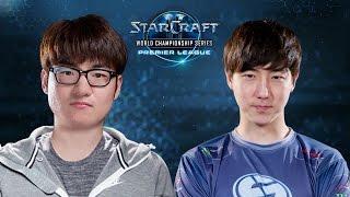 StarCraft 2 - StarDust vs. Jaedong (PvZ) - WCS Season 2 Finals 2015 - Group D